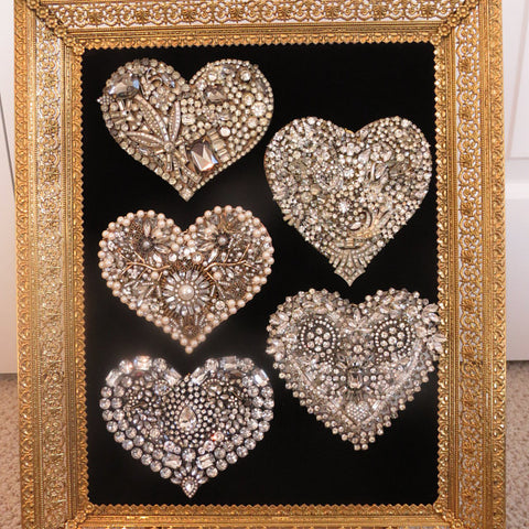 personalized wall hanging collage texture