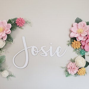 personalized names wall decor 24 hour crafts