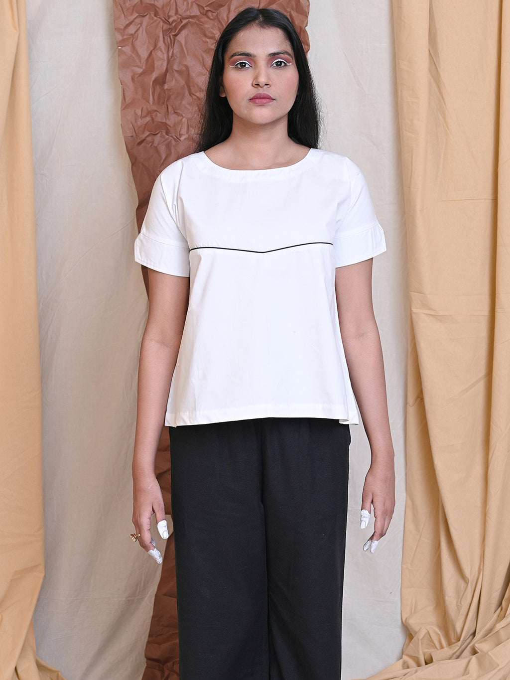 WEEKDAY BLOUSE - WHITE