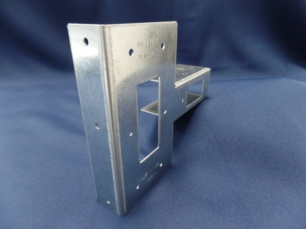 Solid Post Side with narrow 2 x 4 side (NEW VERSION) (Click to see more details on this bracket)