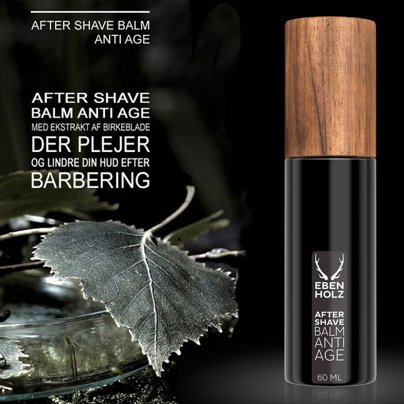 Aftershave Balm Anti-Age (90 ml.) - Ebenholz Skincare - Barber&Care