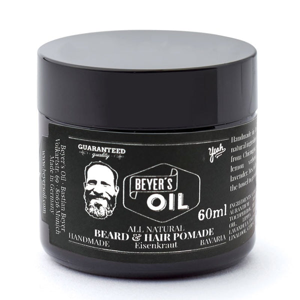Hår og skæg pomade (60ml.), Beyers Oil - Barber&Care