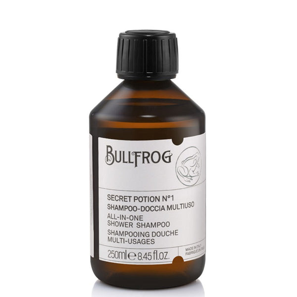 Shampoo all In One, Secret no. 1 (250ml), Bullfrog - Barber&Care