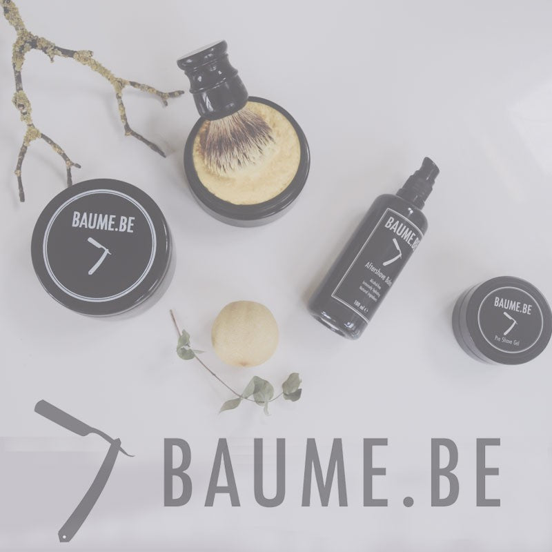 Barbercreme til følsom hud, 200 ml, BAUME.BE - Barber&Care