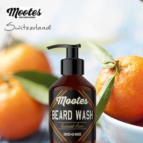 Skægshampoo, Sunset Ave., 100 ml., Mootes - Barber&Care