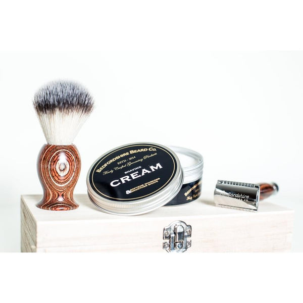 Traditionelt barberingssæt Safety razor - Barber&Care