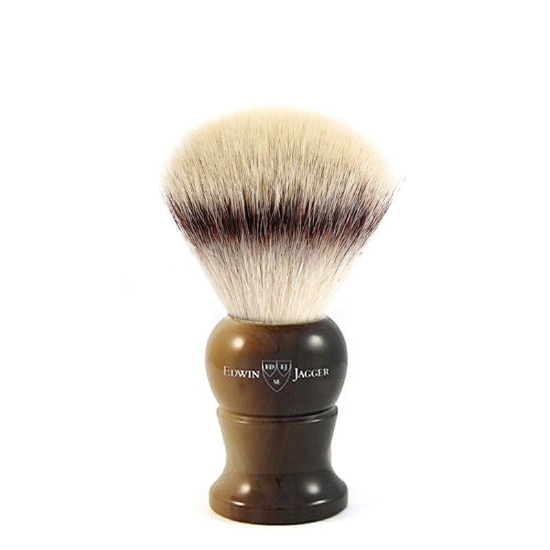 Barberkost brun silvertip synthetic small - Barber&Care