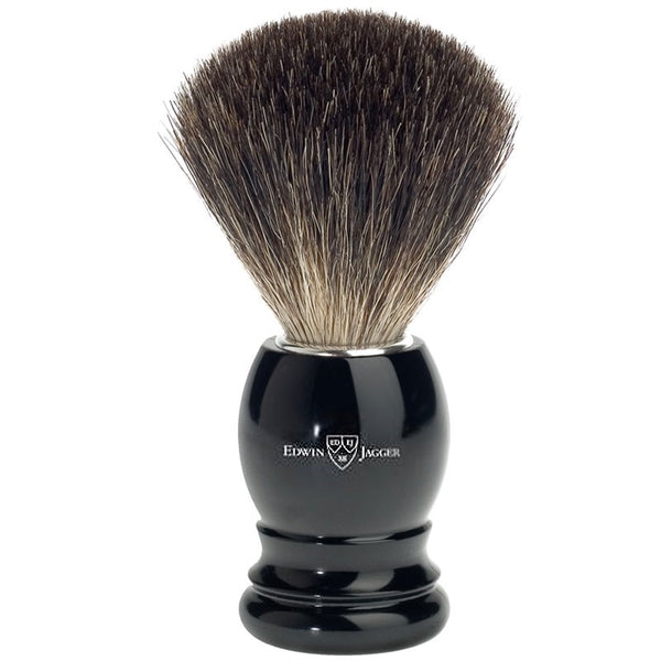 Barberkost Sort Pure Badger Medium - Barber&Care