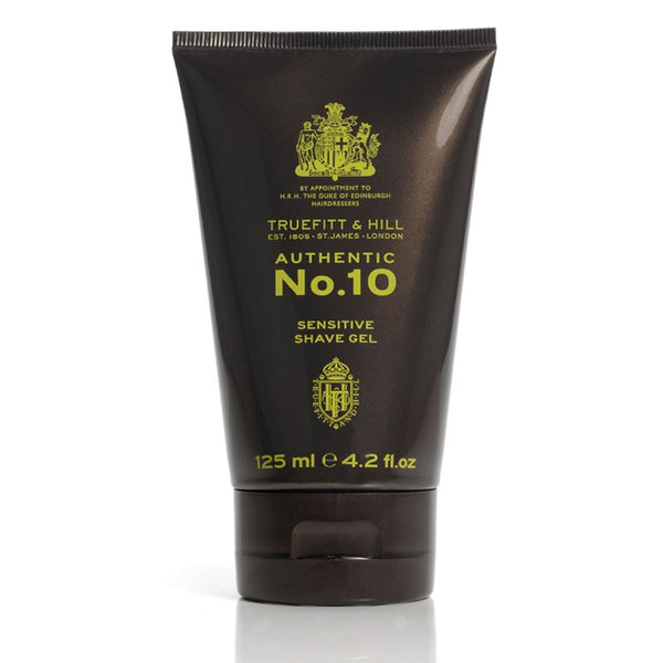 Truefitt and Hill, No. 10 Sensitive Shave Gel (125 ml.) - Barber&Care