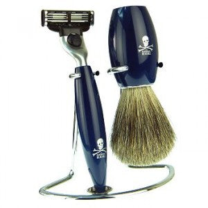 The Bluebeards Revenge Privateer Collection Wire Brush and Razor Stand