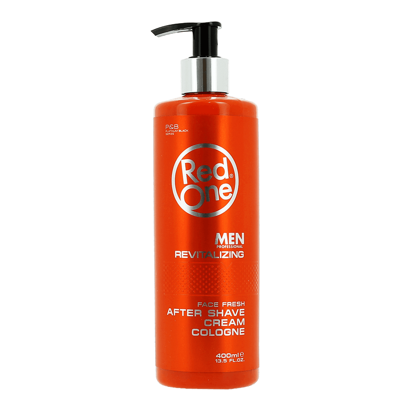 Red One's Revitalizing After Shave Cream Cologne 400ml.