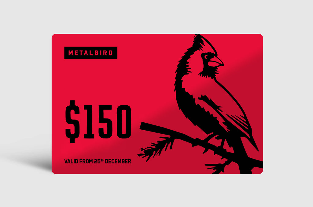 Metalbird Gift Card | Spend & Save!