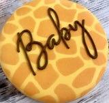 Shop Baby Cookies and Gourmet Gifts online for shipping and delivery at www.sugaricacookies.com