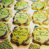 The best wedding cookies, baby shower cookies, birthday cookies and custom cookies online from Sugarica Cookies.