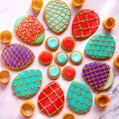 Shop the most exquisite decorated cookies and custom cookies available online at Sugarica Cookies