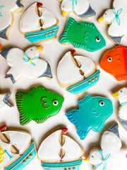 Order the best iced shortbread cookies and decorated cookies online from Sugarica Cookies.