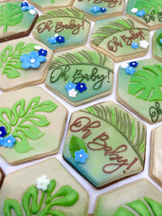 Shop custom decorated cookies for Baby Showers, Weddings, Wedding Showers and Birthday Gifts from Sugarica Cookies. The most popular Baby Shower Cookies are online at Sugarica Cookies and we ship and deliver anywhere in the United States.