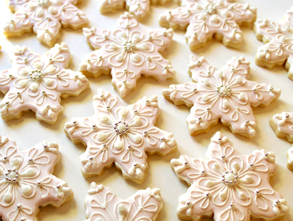 18 San Simeon Snowflakes- Local Delivery Only