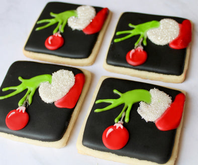 Shop the best Christmas Cookies and gourmet gifts online for shipping and delivery at Sugarica Cookies.