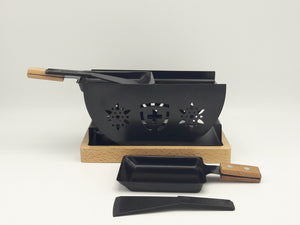 Raclette Set Flower