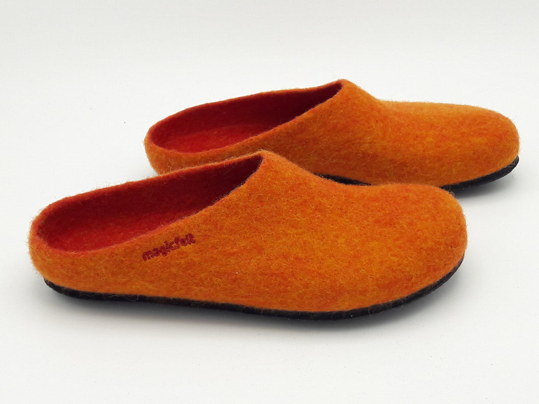 Filzpantoffel magicfelt 4807 Orange