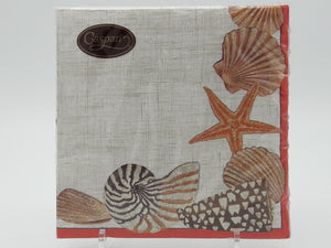 Serviette Lunch 33 x 33cm Seaside