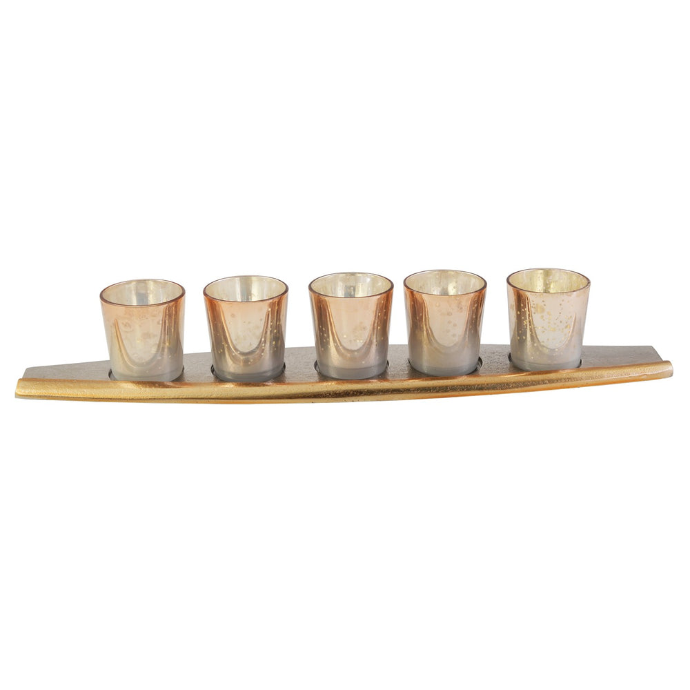 Boat Votive Holder (Set Of 5)