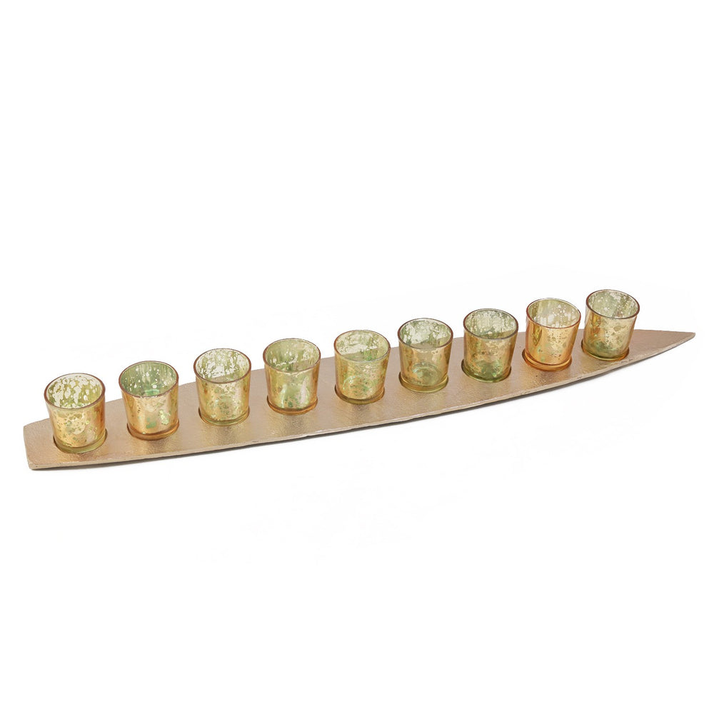 Boat Votive Holder (Set Of 9)