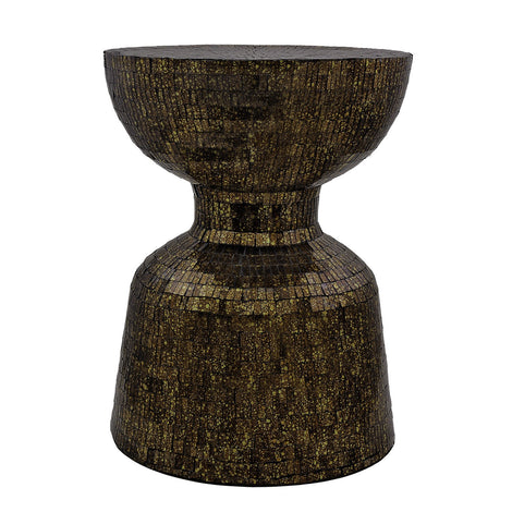 Dark Brown Mosaic Table