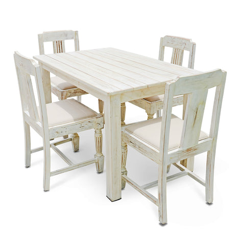 Cafe 4 Seater Dining Set
