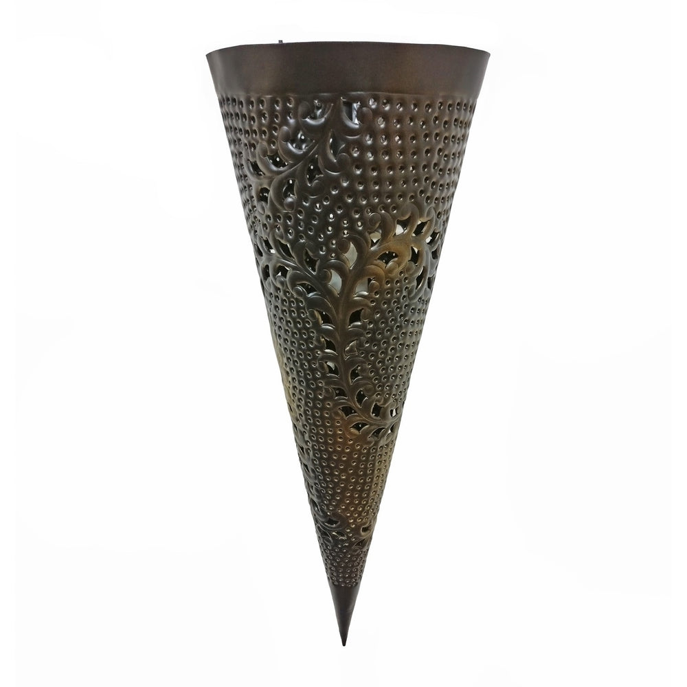 Cone Light With Jali Decorative