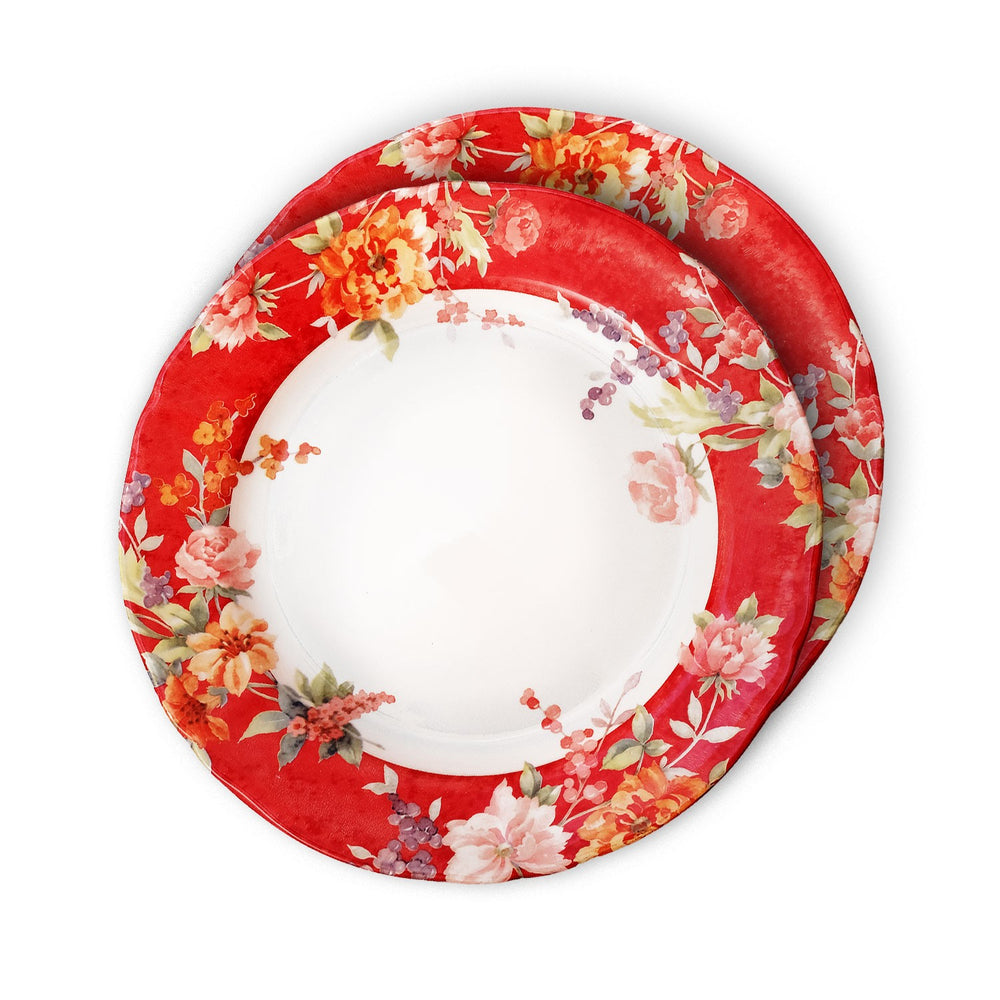 Crimson Dinner Plate (Set Of 2)