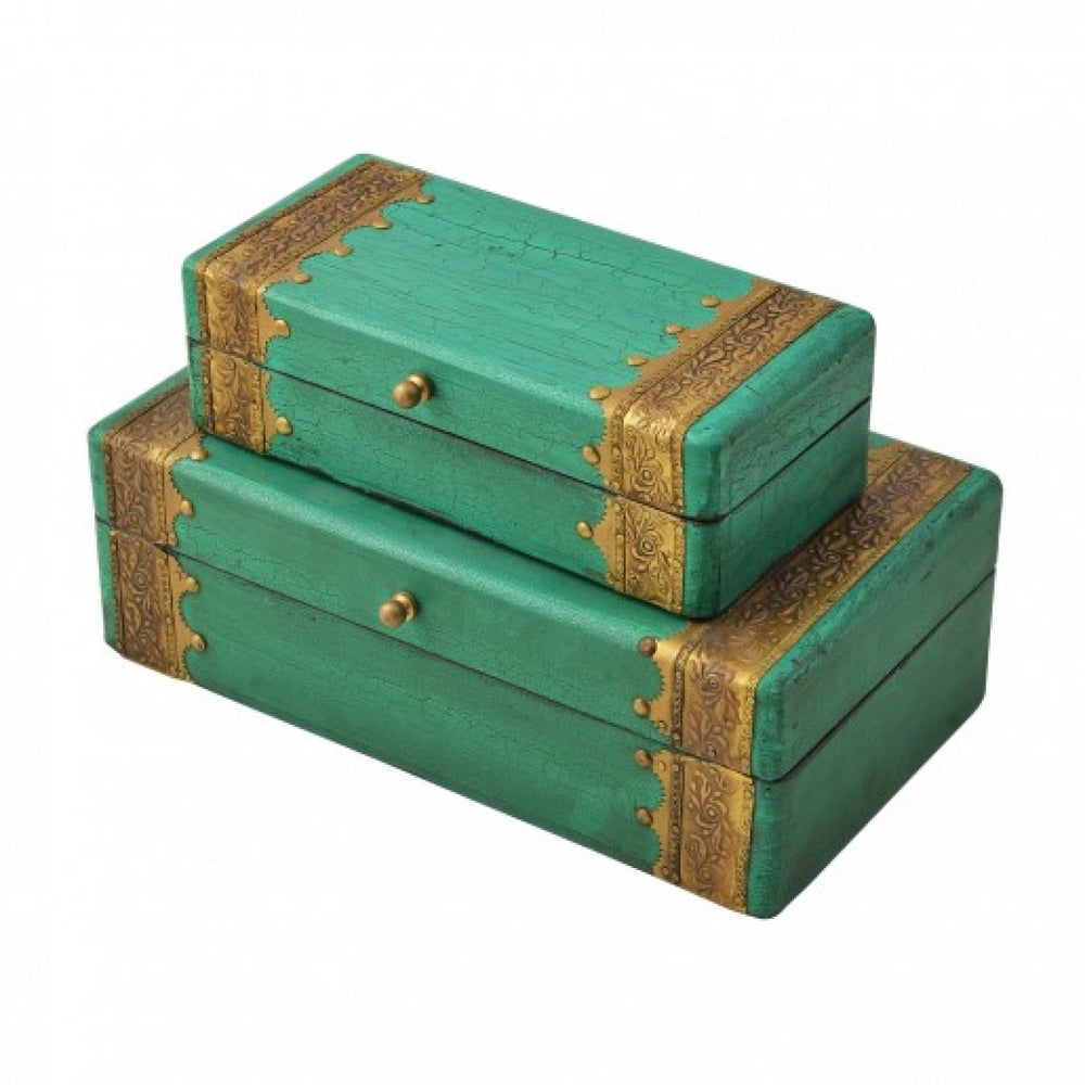Sea Green Jewellery Boxes