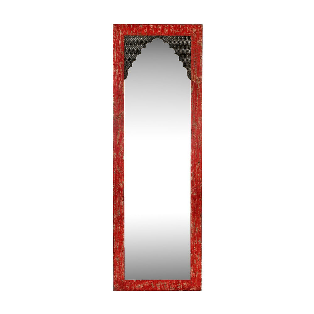 Rustic Red Mirror