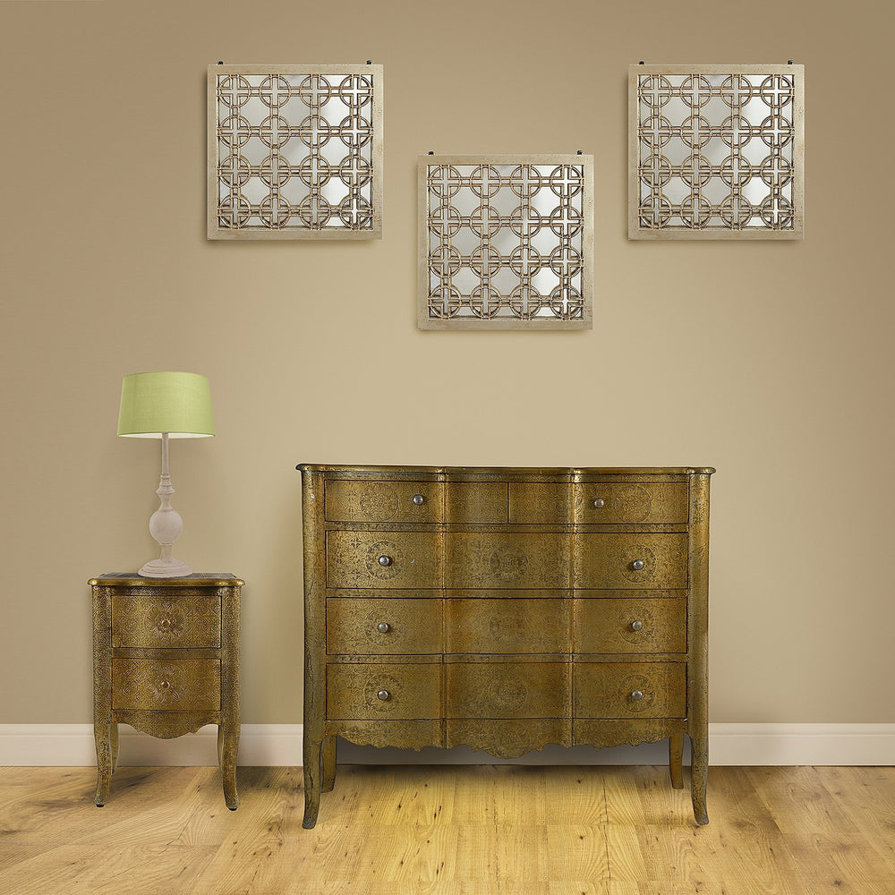 Gold Metal Console, Large