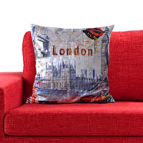 Palace Of Westminster Cushion Cover