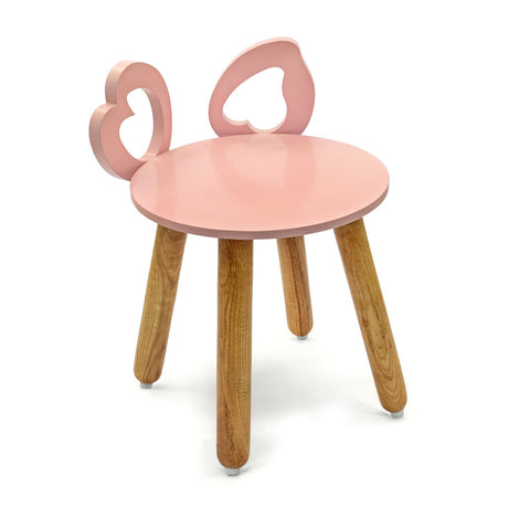 Piggy Ear Stool: Pink