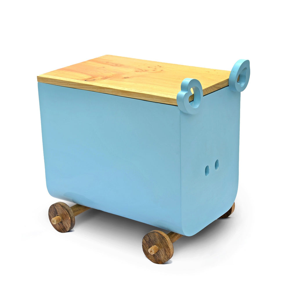 Piggy Storage Trunk: Blue
