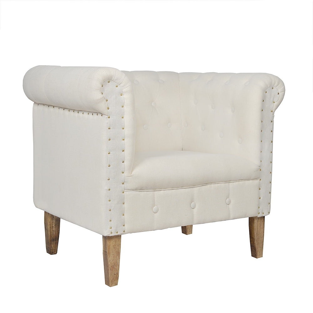 Square Back Armchair