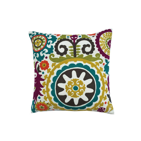 Suzani Lime Cushion Cover