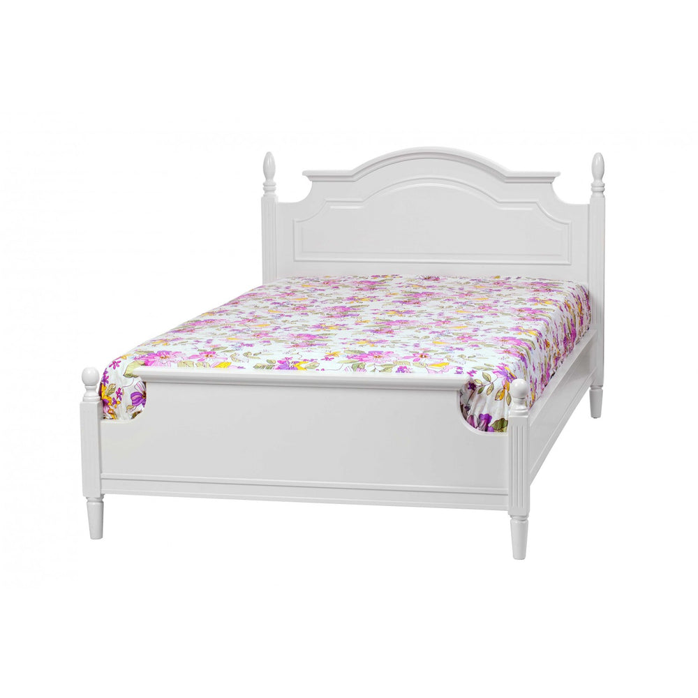Montpelier White Bed, Queen Size