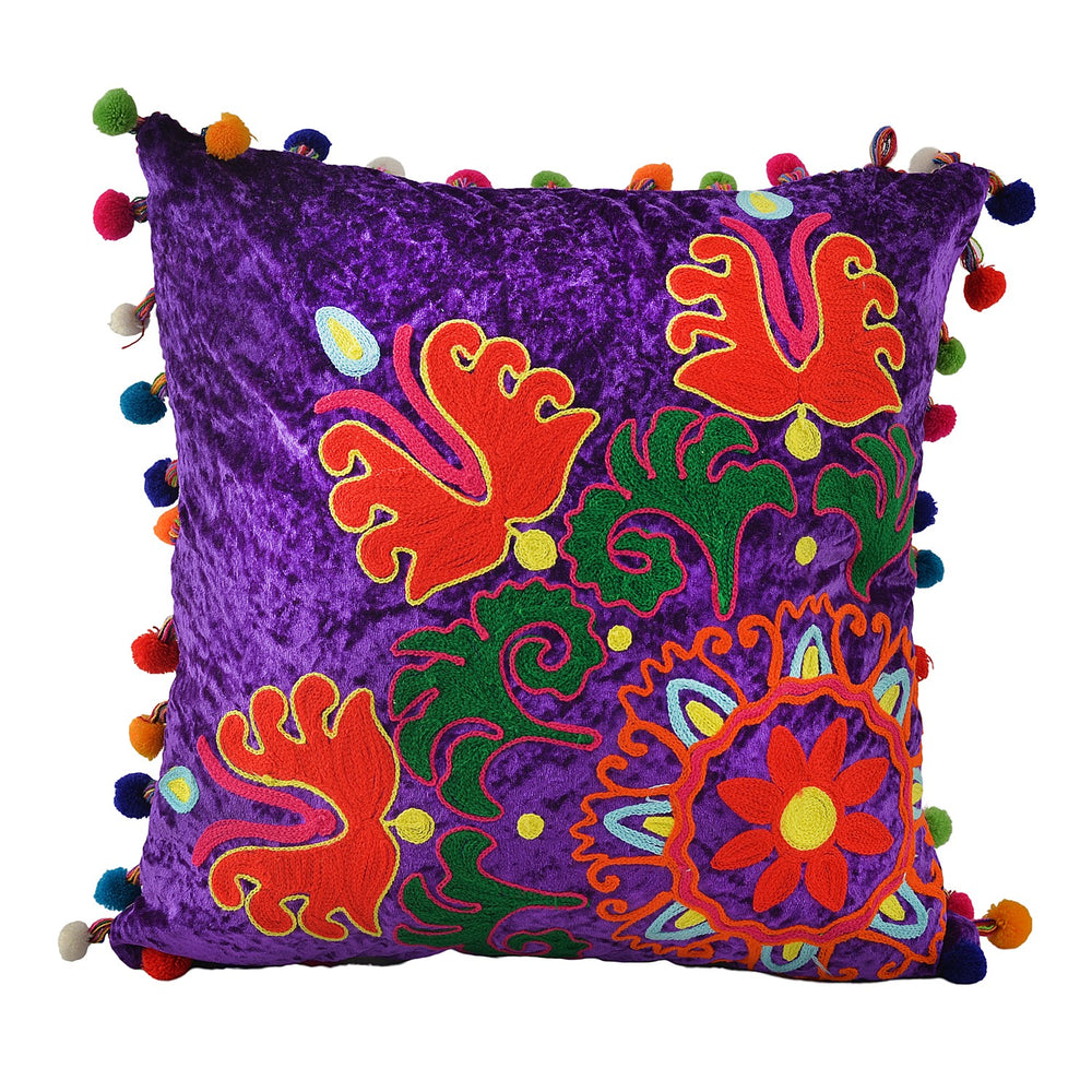 Purple Cushion Cover, 18