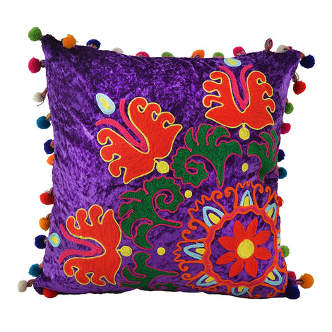 Purple Cushion Cover, 18""