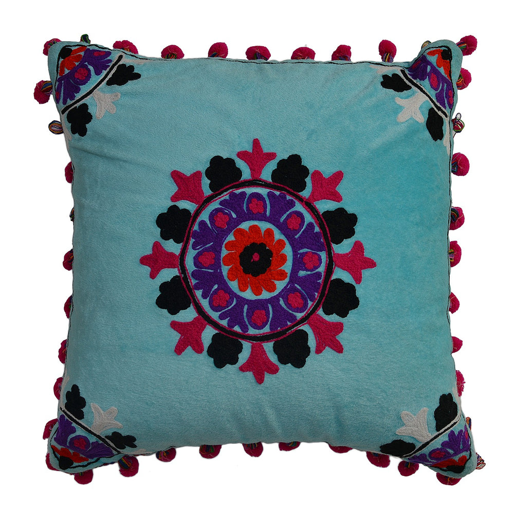 Blue Cushion Cover