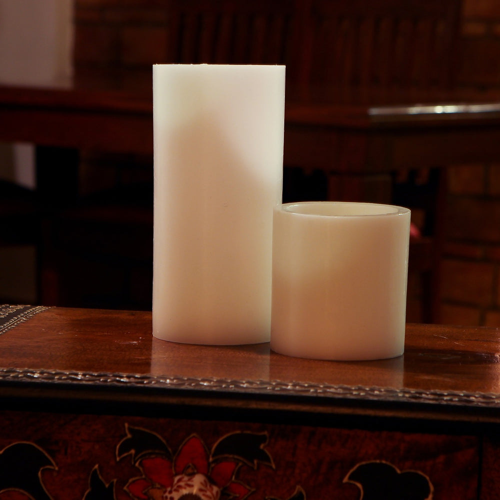Reusable Wax Shell Tea Light Holders, 7.5 X 4, 4x4