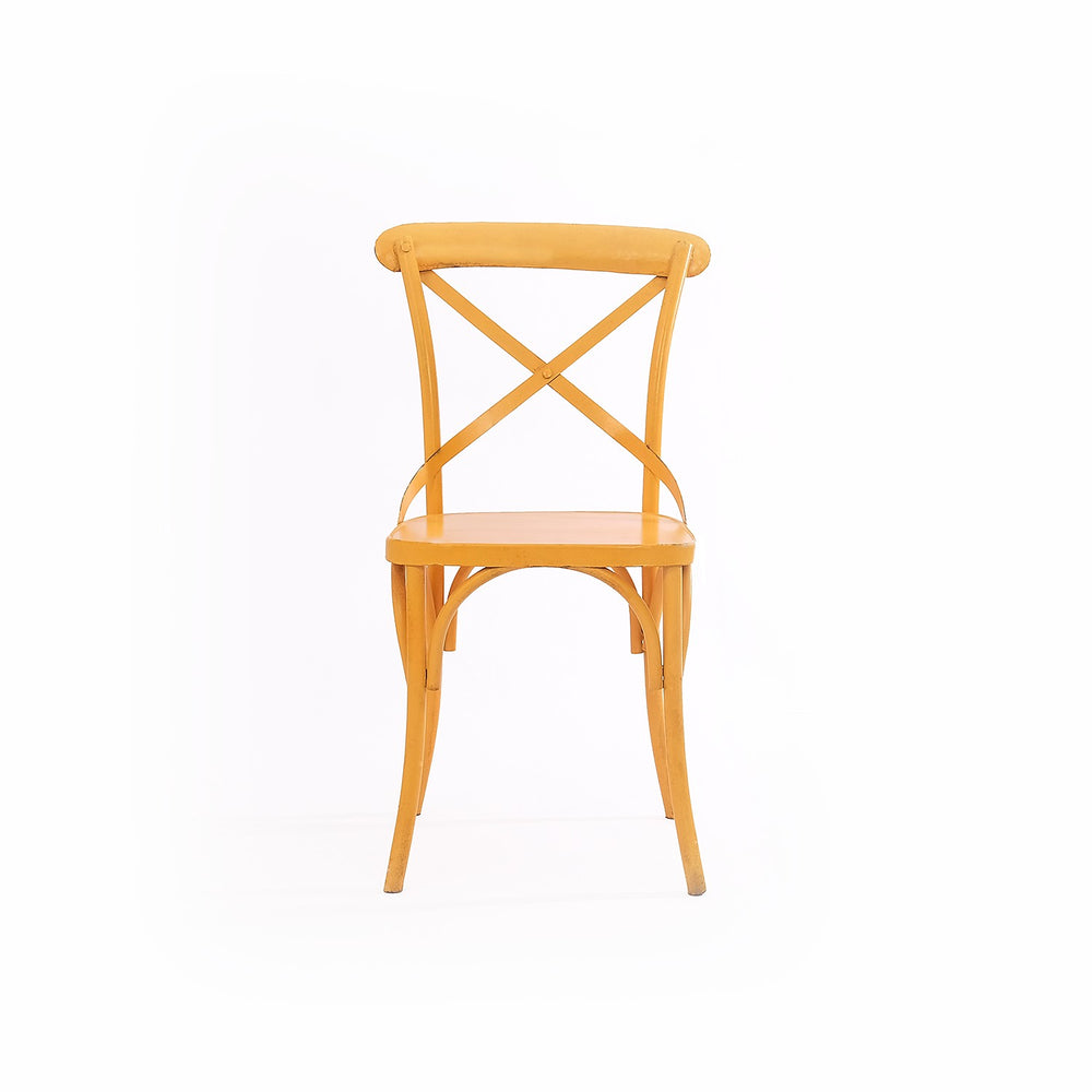 X-Back Chair: Yellow