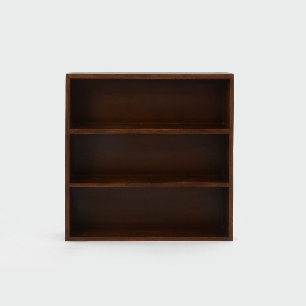 3-Tier Walnut Shelf