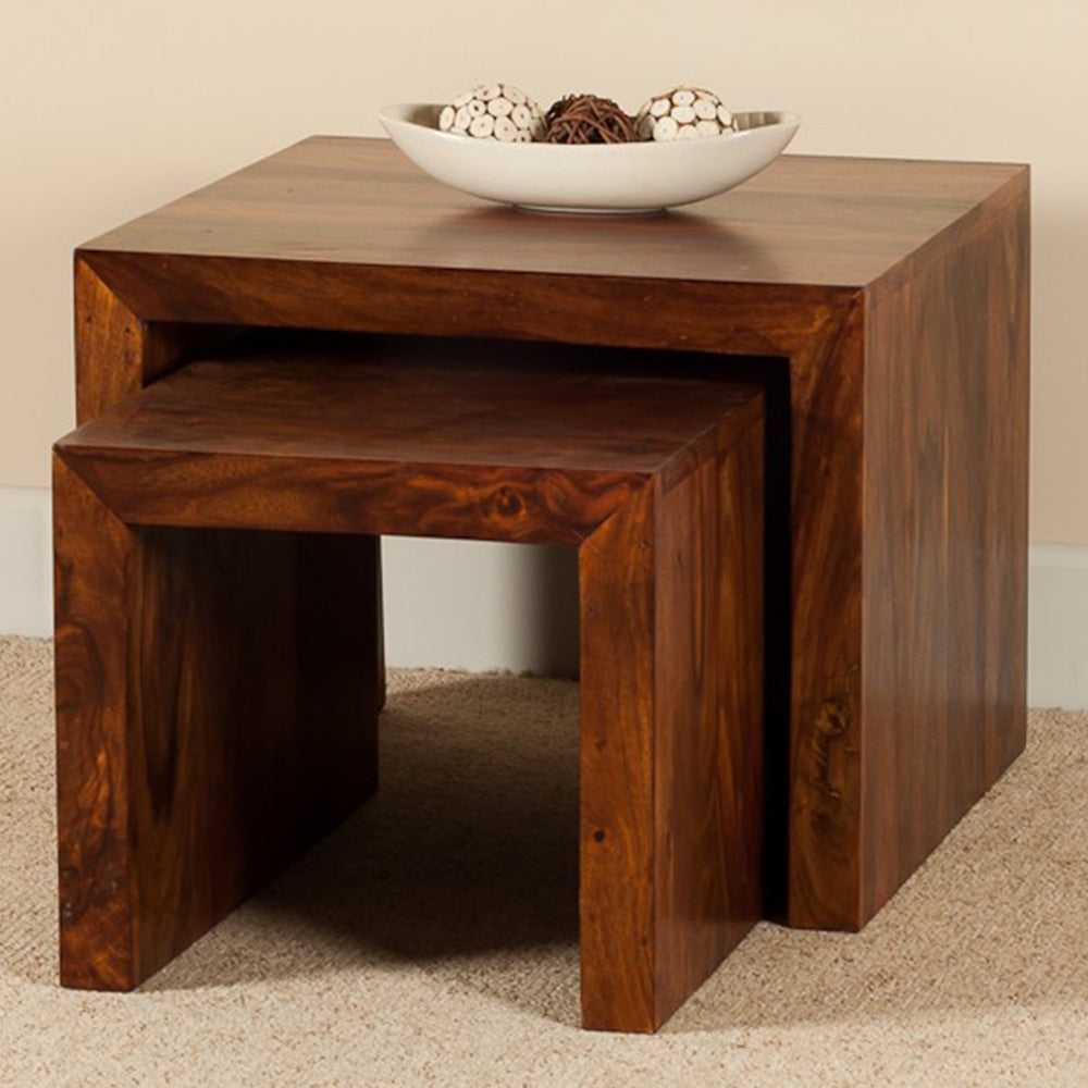 Sheesham Nesting Tables