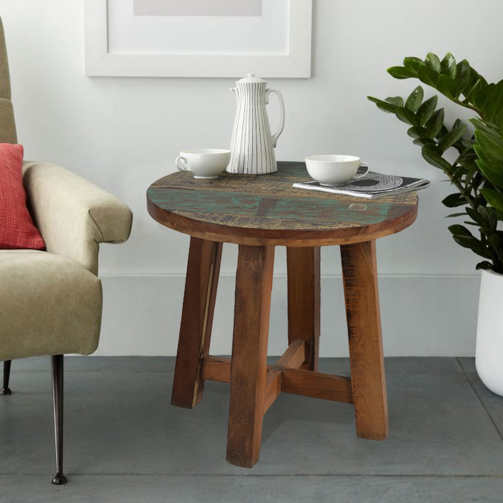 Small Sized Round Coffee Table