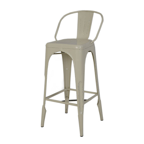 Bar Chairs: White